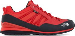 Czerwone buty sportowe The North Face