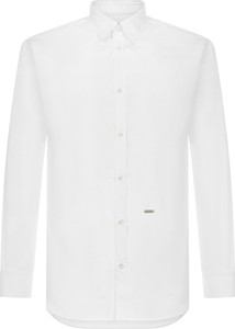 Koszula Dsquared2 z bawełny z długim rękawem