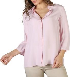Różowa bluzka Fontana 2.0 z jedwabiu