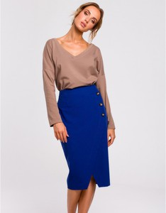 Fioletowa spódnica MOE
