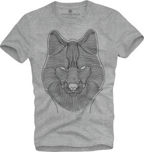 T-shirt Underworld z krótkim rękawem w młodzieżowym stylu