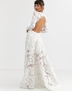 Sukienka Asos Edition z odkrytymi ramionami