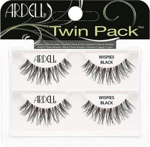 Ardell, Twin Pack, 2 pary sztucznych rzęs, Wispies Black
