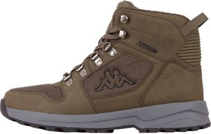 Brązowe buty zimowe Kappa