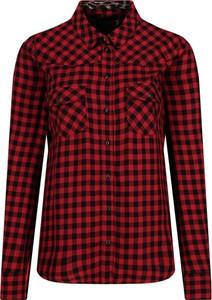 Czerwona koszula Guess Jeans w stylu casual z długim rękawem