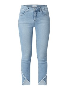 Niebieskie jeansy Angels w street stylu