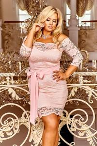 Sukienka Ptakmoda.com mini z długim rękawem
