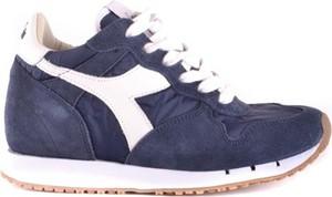 Buty sportowe Diadora z tkaniny w sportowym stylu