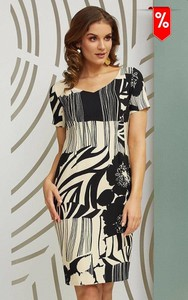 Sukienka Kaskada z krótkim rękawem