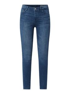 Niebieskie jeansy Review z bawełny w street stylu