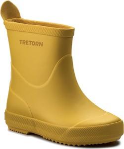 Żółte kalosze dziecięce tretorn