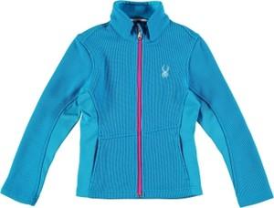 Błękitna kurtka dziecięca Spyder