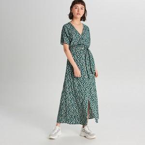 Zielona spódnica Cropp w stylu casual midi