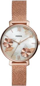 Fossil Zegarek Jacqueline ES4534 Złoty