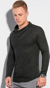 Czarna bluza Ombre w stylu casual