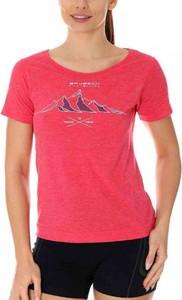 Różowy t-shirt Brubeck