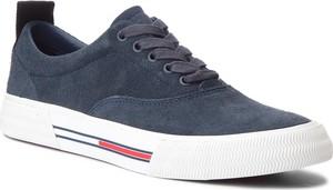 Tenisówki TOMMY JEANS - Oxford City Sneaker EM0EM00149 Ink 006