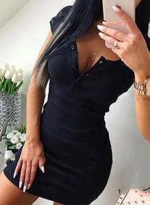 Czarna sukienka Arilook mini