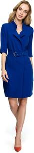 Sukienka Style z tkaniny mini z dekoltem w kształcie litery v