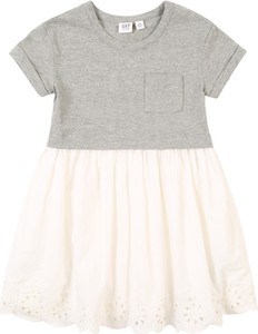 Sukienka dziewczęca Gap z bawełny
