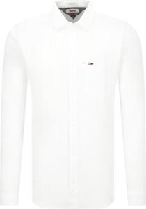 Koszula Tommy Jeans z lnu