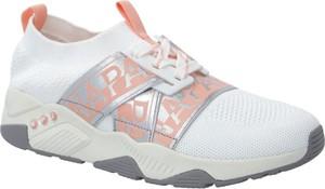 Buty sportowe Napapijri z płaską podeszwą