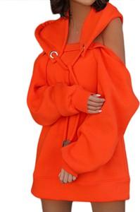 Sukienka Sandbella mini z dresówki w stylu casual