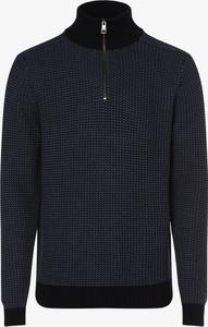 Niebieski sweter Tommy Hilfiger w stylu casual