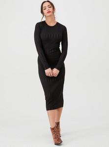 Sukienka V by Very w stylu casual z okrągłym dekoltem midi