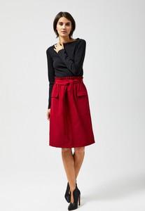 Czerwona spódnica Moodo