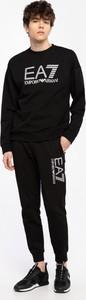 Czarna bluza Emporio Armani z bawełny w młodzieżowym stylu