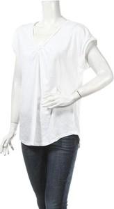 Bluzka Savannah z okrągłym dekoltem w stylu casual