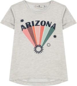 Koszulka dziecięca Tom Tailor z bawełny dla dziewczynek