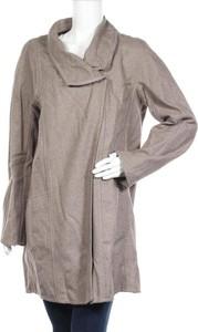 Brązowy płaszcz Violeta By Mango