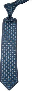 Granatowy krawat Mila Schon
