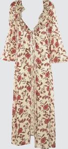 Sukienka Trendyol z długim rękawem maxi