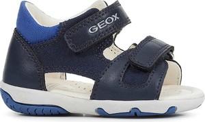Buty dziecięce letnie Geox ze skóry