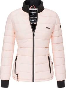 Różowa kurtka Marikoo krótka