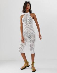 Sukienka Asos Design z dzianiny midi