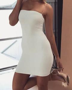 Sukienka Kendallme na ramiączkach mini z okrągłym dekoltem