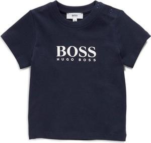 Koszulka dziecięca Hugo Boss z krótkim rękawem z bawełny