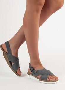 eb821318588c88 sandały skórzane damskie wyprzedaż - stylowo i modnie z Allani