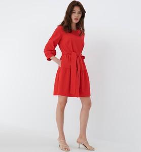 Sukienka Mohito mini z długim rękawem