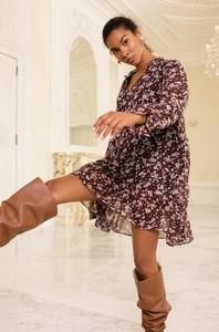Sukienka ORSAY z tkaniny mini z długim rękawem