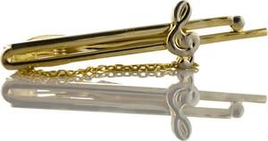 Złota spinka do krawata Em Men`s Accessories