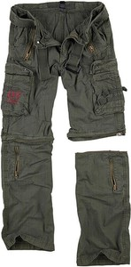 Brązowe spodnie Surplus
