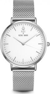 Damski zegarek KING HOON na srebrnej bransolecie