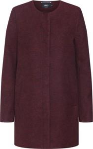 Czerwony płaszcz Only w stylu casual