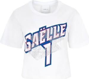 T-shirt Gaëlle Paris z krótkim rękawem w młodzieżowym stylu