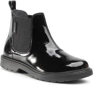 Czarne buty dziecięce zimowe eobuwie.pl